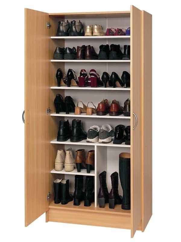 20 ideas originales para almacenar zapatos - Muebles para almacenar ...