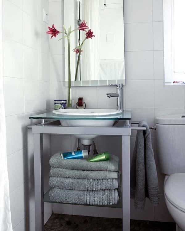 Consejos para decorar los ba os peque os for Ideas para decorar ambientes pequenos