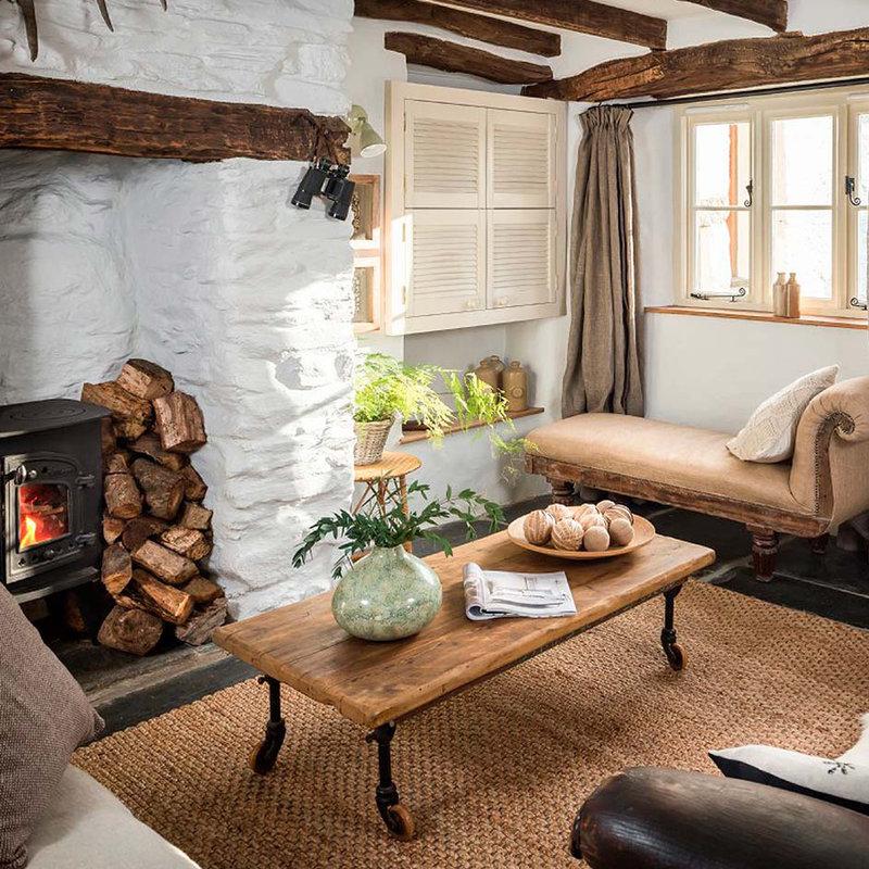 15 hermosas ideas para darle un estilo r stico a tu casa for Como decorar una casa rural