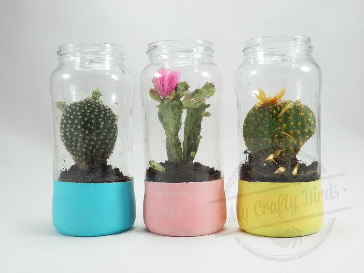 Envases de vidrio para decorar econ micos y ecol gicos for Ideas con frascos de vidrio