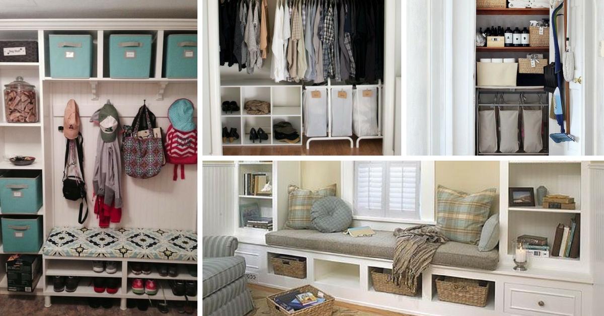 20 estupendas ideas de almacenamiento para el hogar - Ideas para el hogar ...