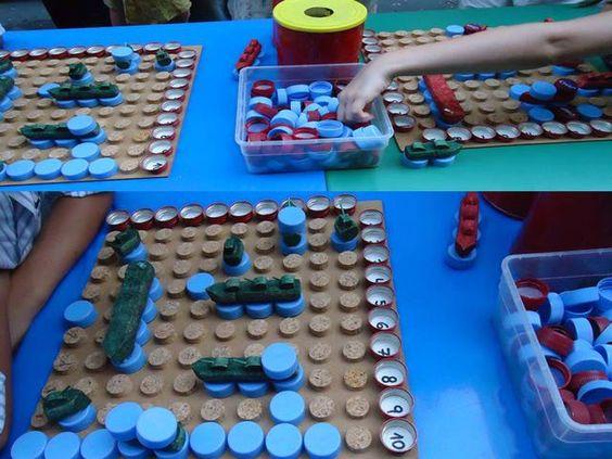 Juegos De Ninos Hechos Con Material Reciclado