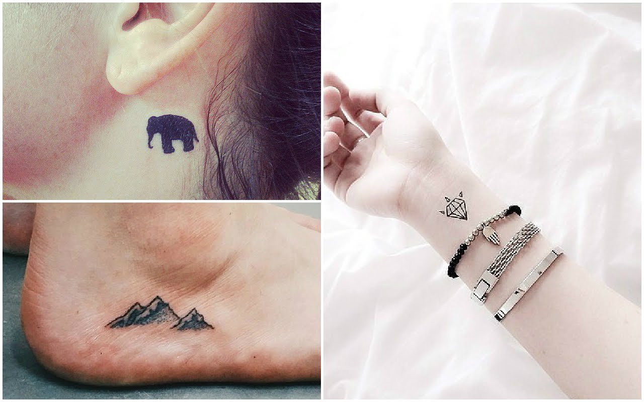 15 Pequenos Tatuajes De Moda Para Mujeres Para 2018