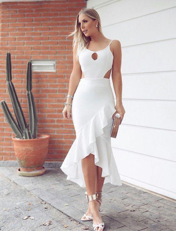 Vestido blanco nochevieja