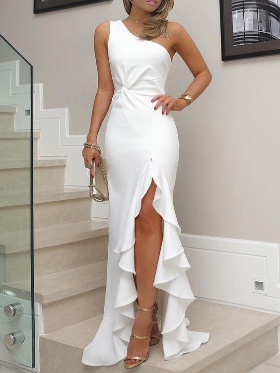 Vestido blanco para nochevieja